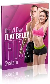 Flat Belly Fix book cover